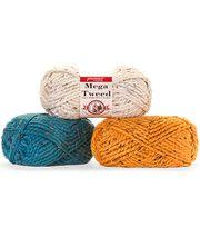 Premier Yarn Mega Tweed Yarn, , hi-res