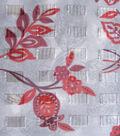 Simply Silky Prints- Vine Flower Organza Clip Chiffon Fabric