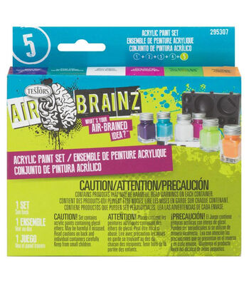 Airbrainz Acrlyic Paint Set-Trend
