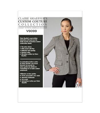 Vogue Patterns Misses Jacket-V9099