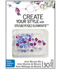 Create your Style with Swarovski Elements Crystal Muted Blues Beads
