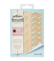 Spellbinders® Shapeabilities® Etched Die-Rhombus Borders, , hi-res