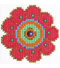 Diamond Embroidery Facet Art Kit 6\u0022X6\u0022-Flower Power