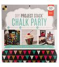 DCWV 12\u0022x12\u0022 DIY Project Stack: Chalk Party