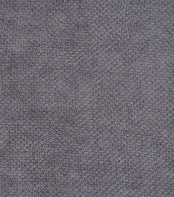 "Signature Series Solid Chenille Fabric 54""-Dark Gray"
