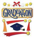 Jolee\u0027s Boutique Themed Ornate Stickers-Graduation Word