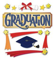 Jolee's Boutique Themed Ornate Stickers-Graduation Word, , hi-res