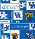 University of Kentucky Wildcats Fleece Fabric 58\u0027\u0027-Block