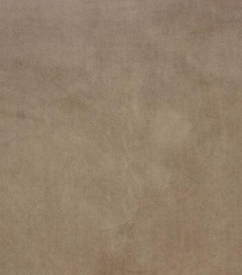 """Hudson 43 Upholstery Velvet Fabric 56""""-Khaki"""