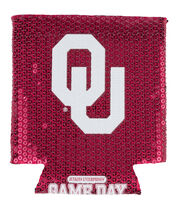 University of Oklahoma Sequin Koozie, , hi-res