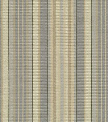 "Waverly Upholstery Fabric 54""-Lucky Stripe/Ironstone"