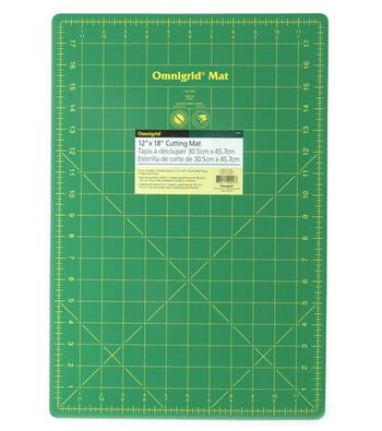"Omnigrid Mat With Grid-12""x18"""