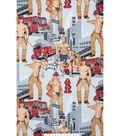 Novelty Cotton Fabric 45\u0022-Ready For Action