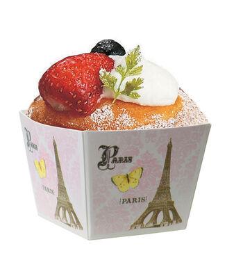 12pk Paris Cube Baking Pans-Pink