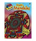 Adult Coloring Book-Dover Publications Mystic Mandalas 3D