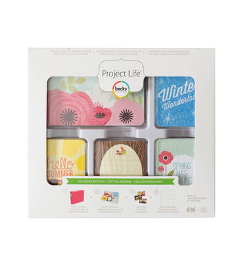 Project Life Seasons Edition 616 Pack Core Kit