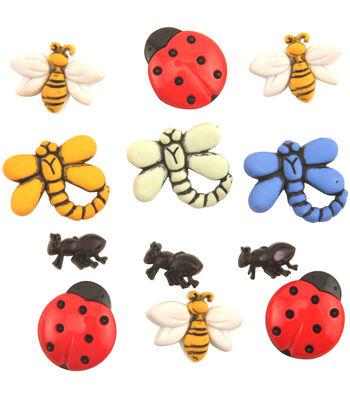 Buttons Galore Garden Bugs Buttons