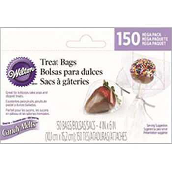 Mega Pack Candy Treat Bags and Ties