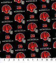"""Cincinnati Bengals Cotton Fabric 58""""-Helmet Logo, , hi-res"""