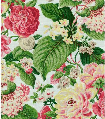 "Waverly Print Fabric 54""-Floral Flourish/Spring"