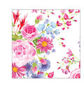 Wild Blooms Pack of 20 Paper Lunch Napkins-Butterfly