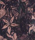 Home Essentials 45\u0022 Print Fabric-Black Neutral Floral