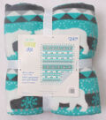 No Sew Fleece Throw 48\u0022-Turg Polar Bear Stripe