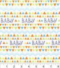 Nursery Cotton Fabric 43\u0022-Happy Jungle Baby