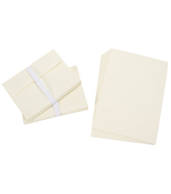 Core'dinations Card/Envelopes:  A7 Ivory; 50 pack