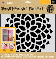 FolkArt® Stencil1™ Laser Stencils - Mum, , hi-res