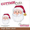 CottageCutz Die Jingle Santa