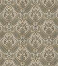 Eaton Square Print Fabric 54\u0022-Mango/Olive