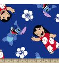 Disney Lilo and Stitch Print Fabric