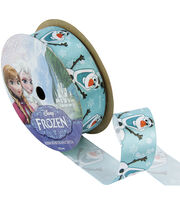 "Frozen Ribbon 7/8""x9'-Olaf, , hi-res"