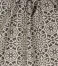 Optimum Performance Acrylic Fabric 54\u0027\u0027-Pewter Geometrics
