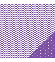 American Crafts Basics Chevron Double-Sided Cardstock, , hi-res