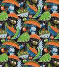Snuggle Flannel Fabric 42\u0022-Curious Little Bugs