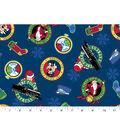 Christmas Cotton Fabric 43\u0022-Polar Express All Aboard