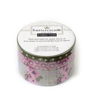 Buttercream™ Elizabeth Collection Fabric Tape-Romantic Floral, , hi-res