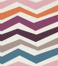 Modern Essentials 54\u0022 Print Fabric-Purple Stretch Chevron