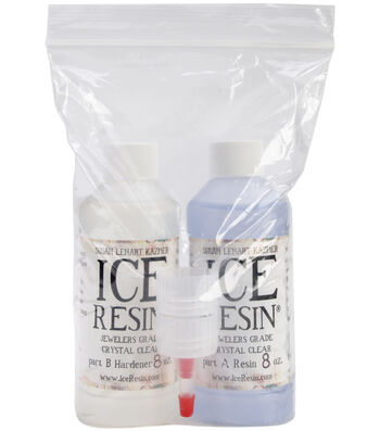 ICE Resin 16oz Refill Kit-8oz Resin & 8oz Hardener