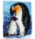 Wonderart Latch Hook Kit 15\u0022X20\u0022-Penguins