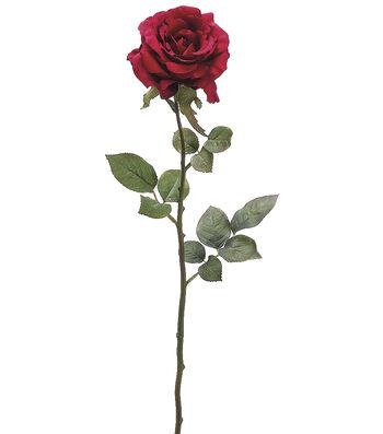 """Bloom Room 28"""" Margaret Rose Stem-Wine"""
