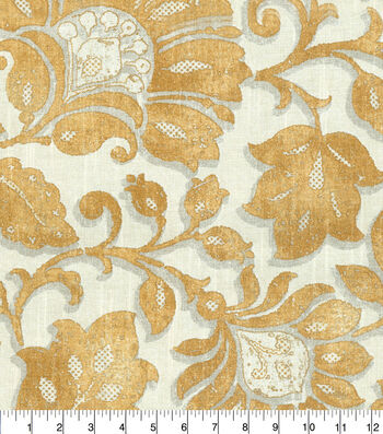 "Waverly Upholstery Fabric 54""-Imaginary Cornsilk"
