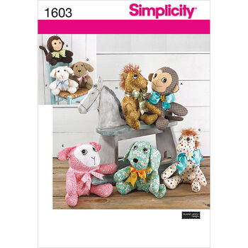 Simplicity Pattern 1603OS One Size -Crafts Crafts