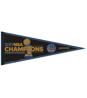 Golden State Warriors Championship Pennant