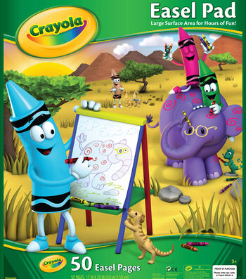 "Crayola Giant Easel Pad 17""X20""-50 Sheets"