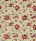 Home Decor 8\u0022x8\u0022 Fabric Swatch-French General Catalog Rouge
