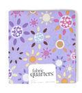 Fabric-Quarters Assorted Fabric-Purple