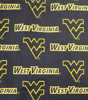 "West Virginia University Mountaineers Canvas Fabric 58""-Logo, , hi-res"